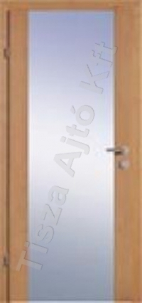 Ü1 edzett üveges beltéri ajtó