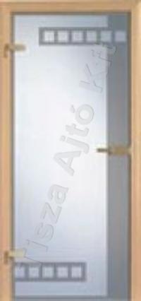 Ü5 edzett üveges beltéri ajtó