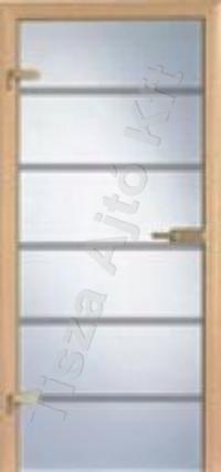 Ü8 edzett üveges beltéri ajtó