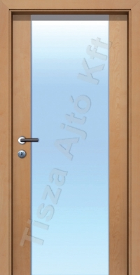 L02 edzett üveges beltéri ajtó