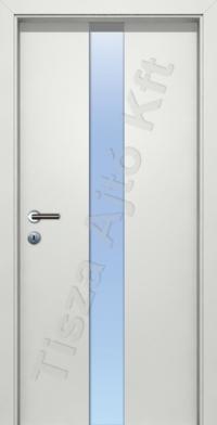L03B edzett üveges beltéri ajtó