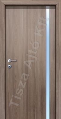 L04A edzett üveges beltéri ajtó