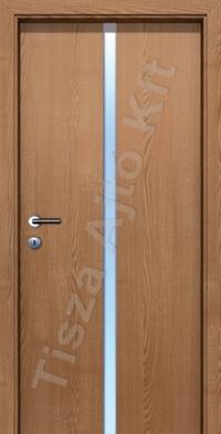 L04B edzett üveges beltéri ajtó
