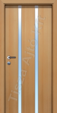 L05 edzett üveges beltéri ajtó