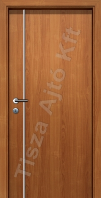F01V krómcsíkos beltéri ajtó