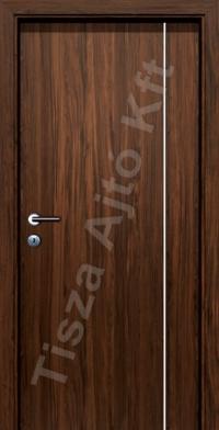 F02V krómcsíkos beltéri ajtó