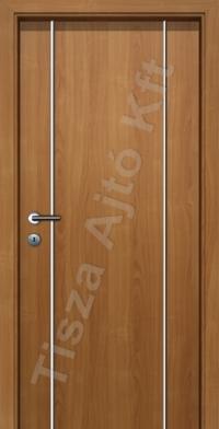 F03V krómcsíkos beltéri ajtó