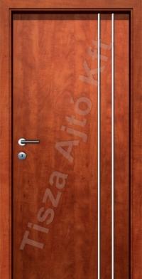 F07V krómcsíkos beltéri ajtó