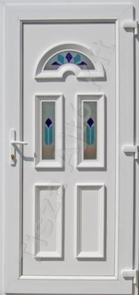 Temze 3 üveges kék ajtó