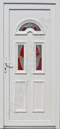 Temze 3 üveges pirosas ajtó