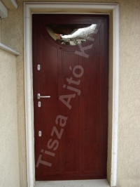 11-es ajtó mahagóni színben
