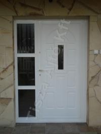 25-ös fehér, oldalvilágítós ajtó