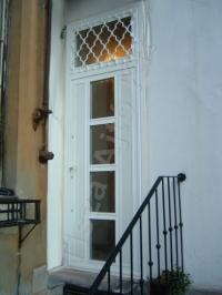 32-es ajtó Fehér színben