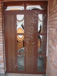 37-es ajtó biztonsági üveggel