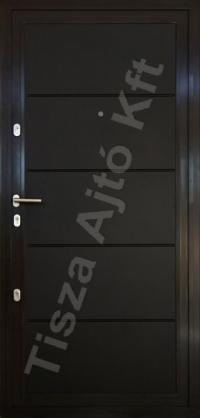 43-as ajtó festett felülettel