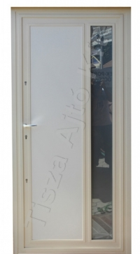 53-as ajtó festett fehér felülettel