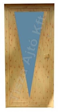 64-es ajtó fenyő felülettel