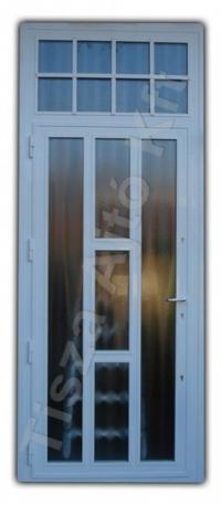 80-as ajtó fehér színben, Debrecen
