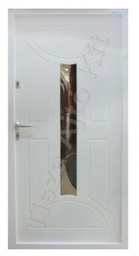 90-es ajtó fehér festett