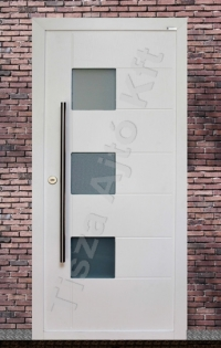 93-as ajtó fehér festett