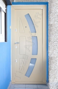 103-as ajtó fehér festett