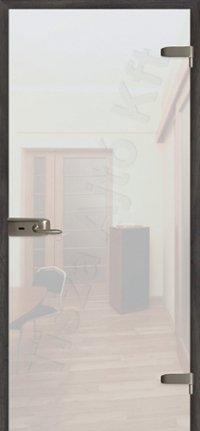 Edzett üveg belső ajtó
