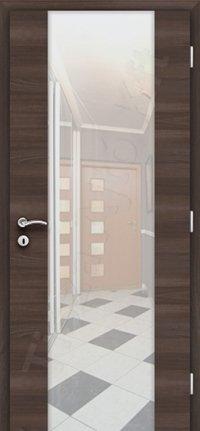 Edzett üveges ajtó beltéri