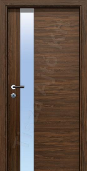 LA22 edzett üveges CPL belső ajtó