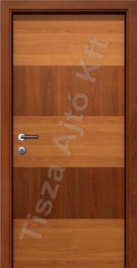 U06H kétszínű intarziás CPL belső ajtó