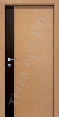 F01H kétszínű alucsíkos intarziás CPL beltéri ajtó