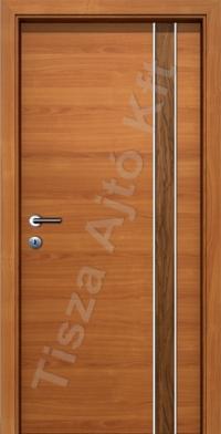 F07H kétszínű alucsíkos intarziás CPL belső ajtó