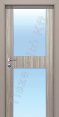 L07 edzett üveges ajtó